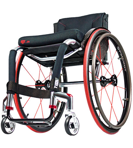 silla de ruedas rígida